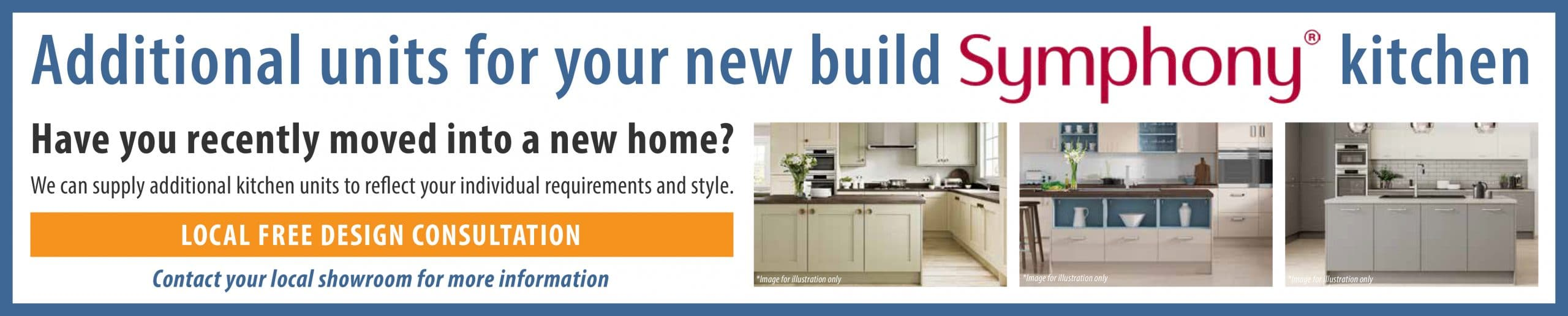 Additional units for your new build Symphony kitchen