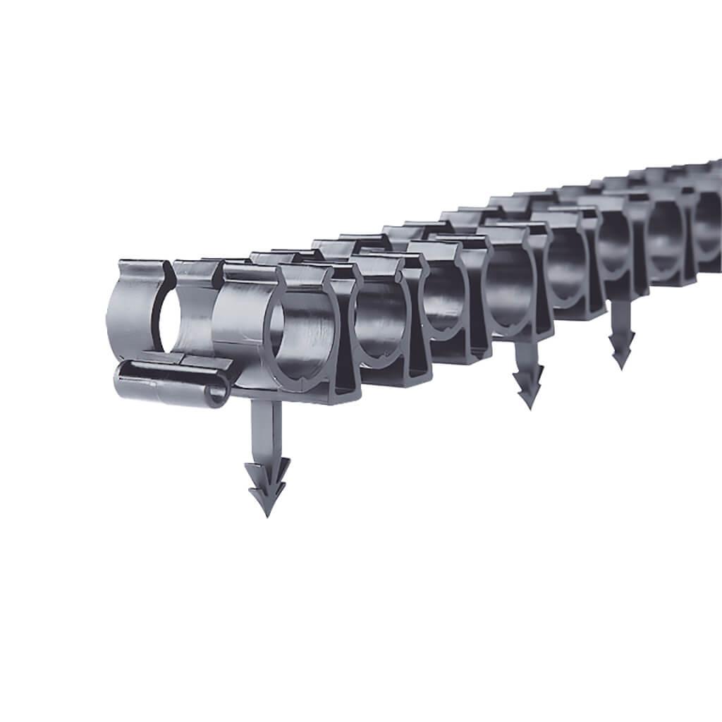 50 x Barbed Clip Rail