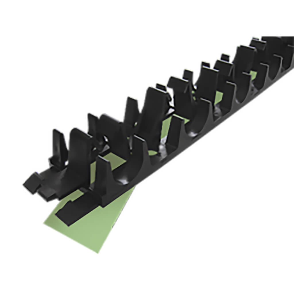 Clip Rail Track Taped