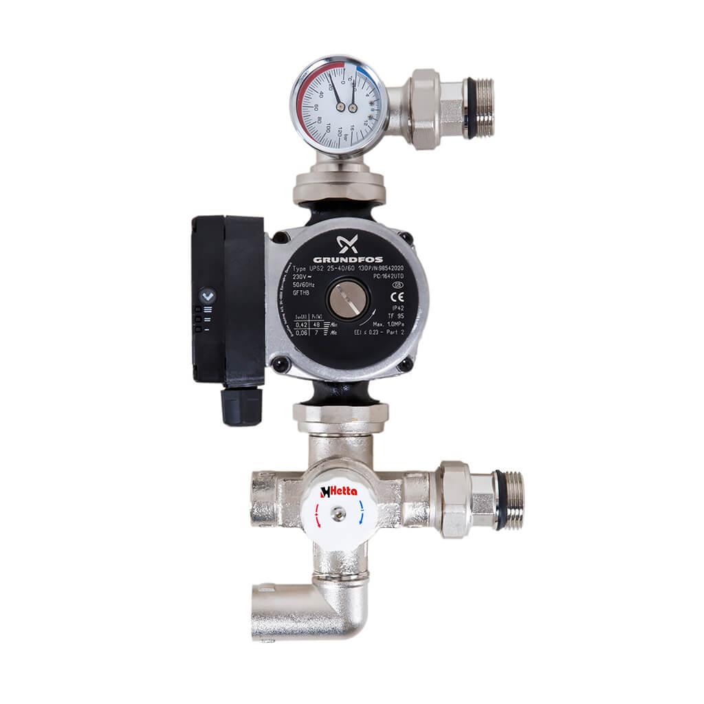 Underfloor Heating Manifold Pump Set