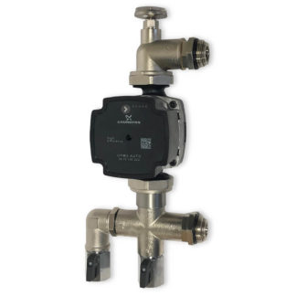Underfloor Grundfos Heat Pump Pack