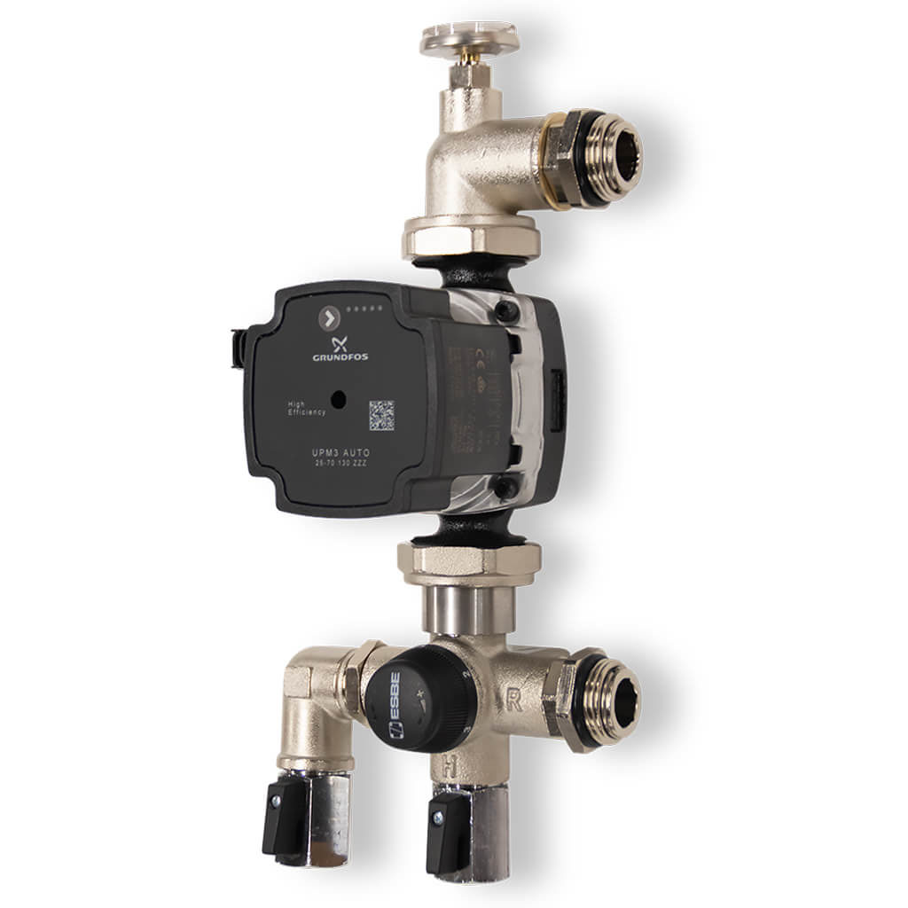 Grundfos and ESBE Manifold Pump Set
