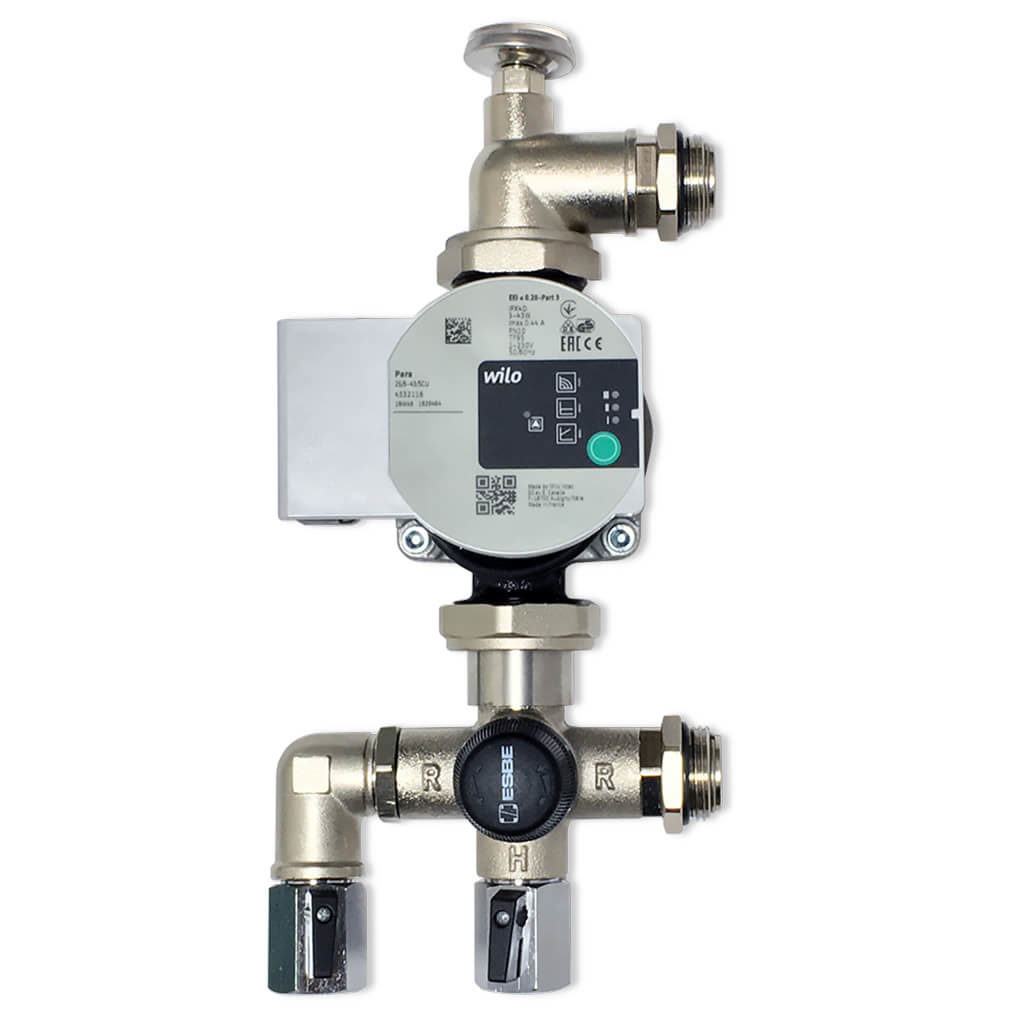 Wilo and ESBE Manifold Pump Set