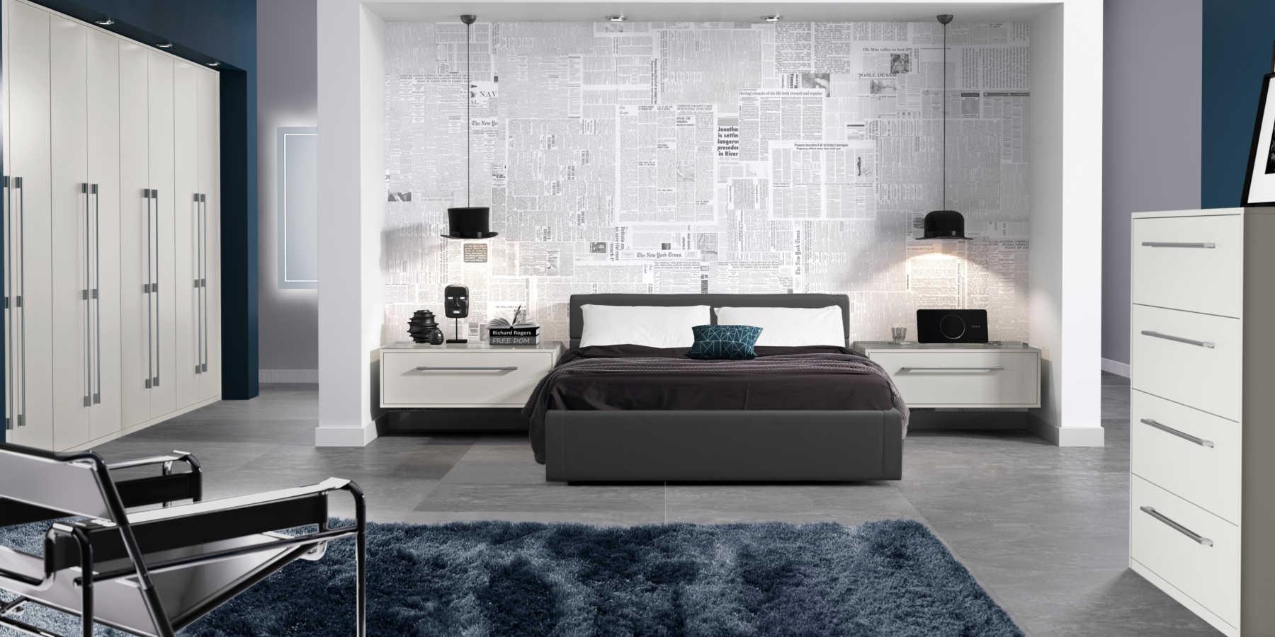 Symphony lunar bedroom