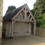 Oak Framed Garage One Bay