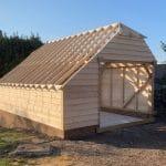 Oak Framed Garage Construction