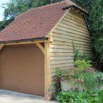 One Bay Oak Framed Garage