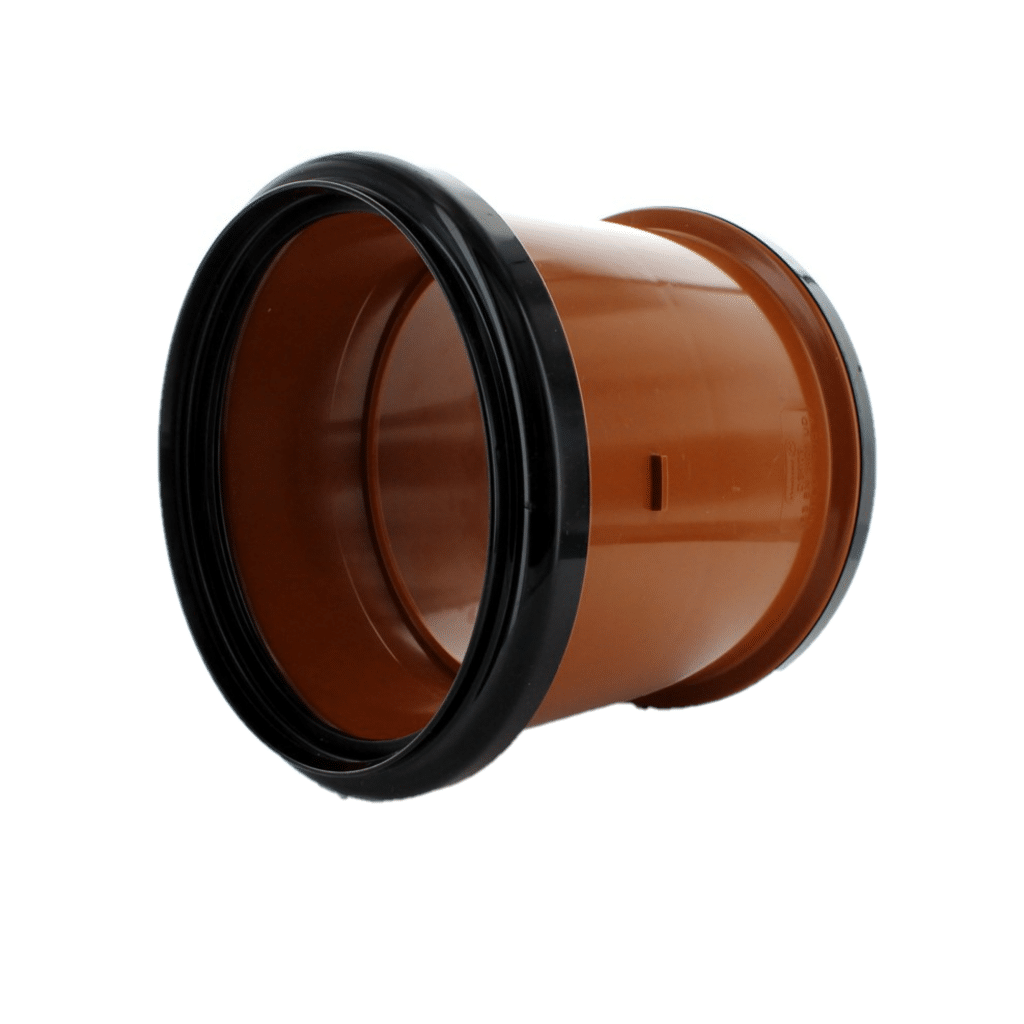 Hunter 110mm Underground Double Socket Coupling DS211