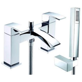 DEVA Swoop Deck Mounted Bath Shower Mixer