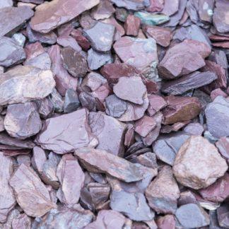 Plum Slate Chippings 20mm