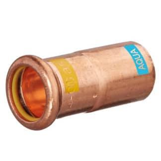 M-PRESS Aquagas Copper 22mm x 15mm Socket Reducer