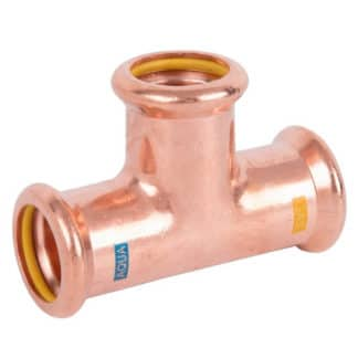 M-PRESS Aquagas Copper Equal Tee 15mm