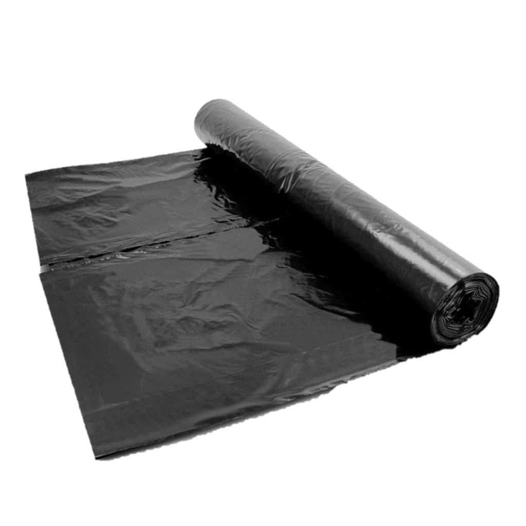 Black DPM 1200g 25x4mtr BBA Polythene